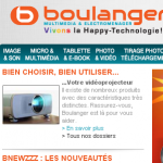 Boulanger magasin