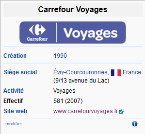 Carrefour Voyage Wikipedia