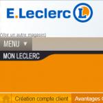 La carte Leclerc