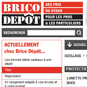 bricot depot catalogue