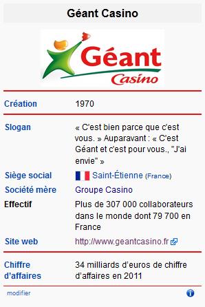 geant casino siege social